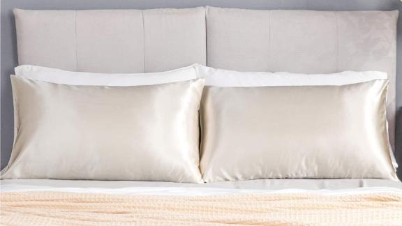 Bedsure Satin Pillowcases, 2-Pack