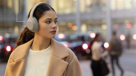 Sony WH-1000XM4 Noise-Canceling Overhead Headphones