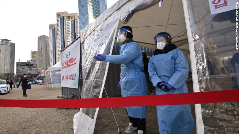 South Korea warns of first potential lockdown as coronavirus numbers continue to rise
