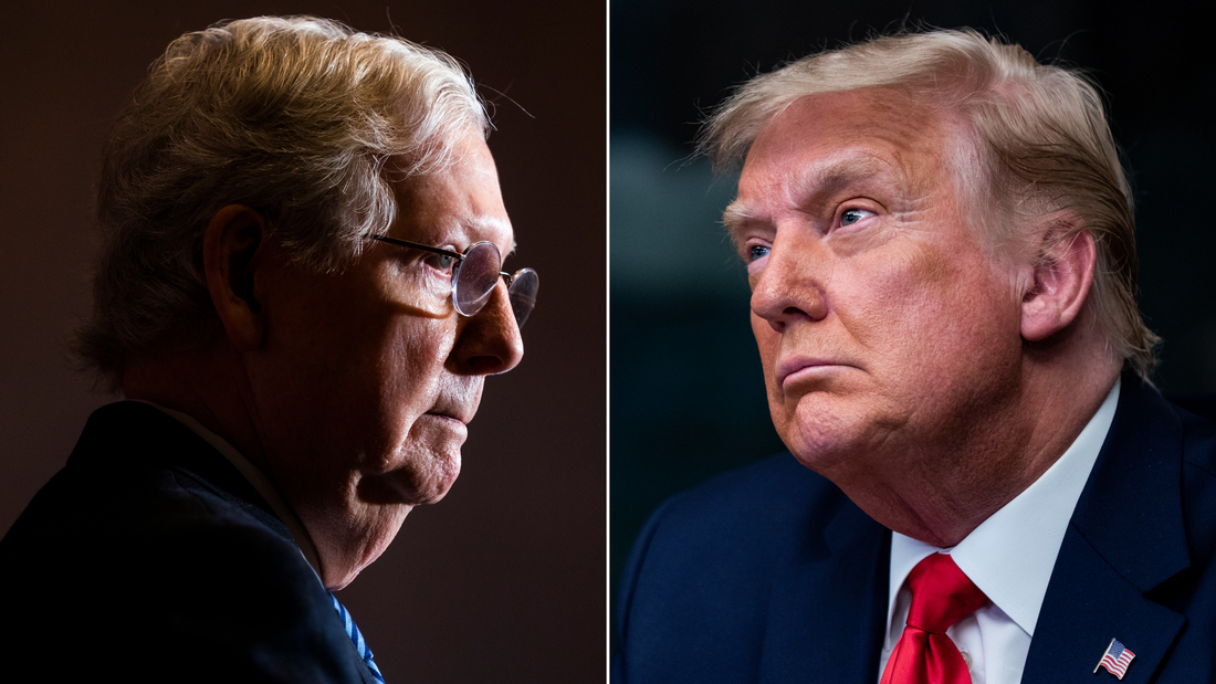Image for Mitch McConnell: Capitol Hill Mob Was 'Provoked' by Trump