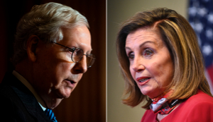 Pelosi and McConnell say they will get Covid vaccine in the coming days