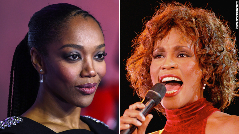 Whitney Houston biopic casts Naomi Ackie as late singer