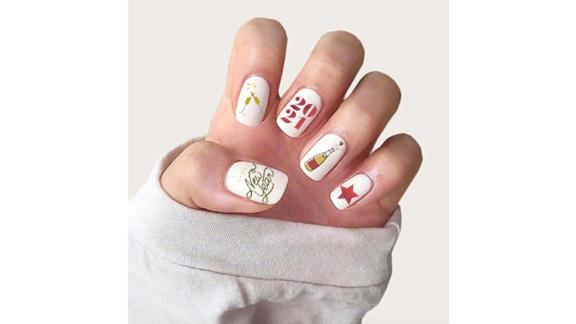 HubCityNailsNew Years 2021 Nail Art
