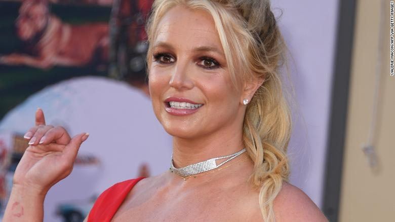 Britney Spears dances to music featuring ex Justin Timberlake