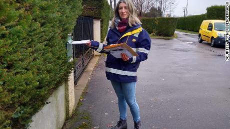 Esther Benderradji lives in the town of Senones in France.