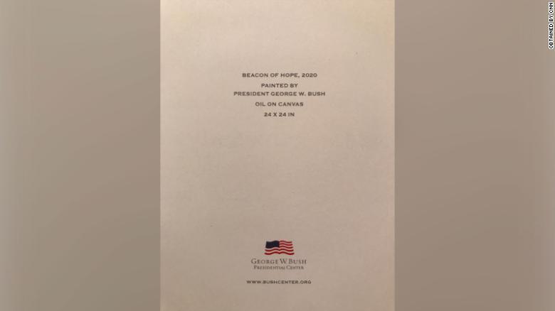 George W. Bush Christmas Card
