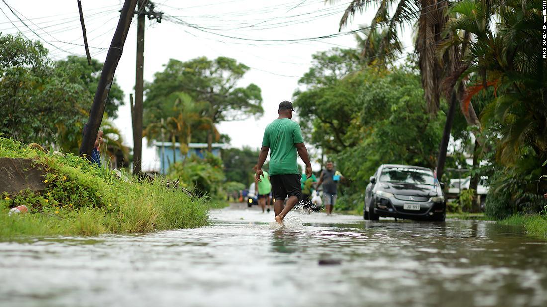 Fiji under curfew as powerful Cyclone Yasa makes landfall