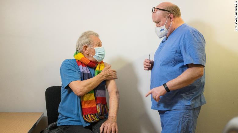 Actor Ian McKellen receives Covid-19 vaccine, says he feels 'euphoric'