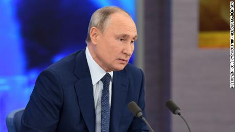 Putin says if Russia wanted to kill opposition leader Navalny, it would have 'finished' the job