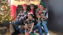 Philamena Belone loved the holidays and spending time with her three children.