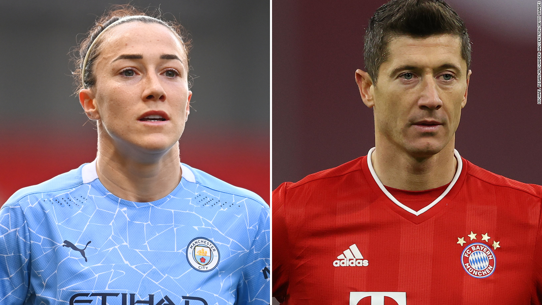 Lewandowski and Bronze named players of the year at Best FIFA Football Awards