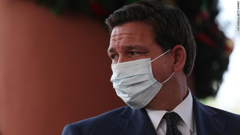 Putting 'politics in front of lives': DeSantis faces criticism over Florida's Covid-19 response