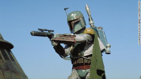 """Tributes have poured in after Bulloch, pictured here playing Boba Fett in """"Star Wars: Episode VI - Return of the Jedi,"""" passed away on Thursday."""