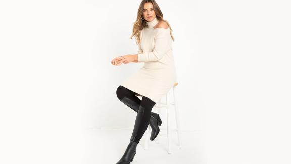 Eloquii Cold Shoulder Sweater Dress