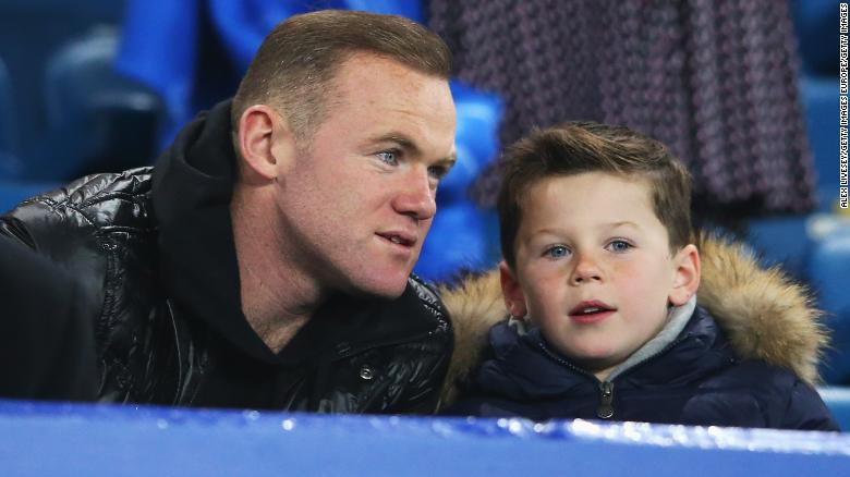 Wayne Rooney's son Kai signs for Manchester United's academy