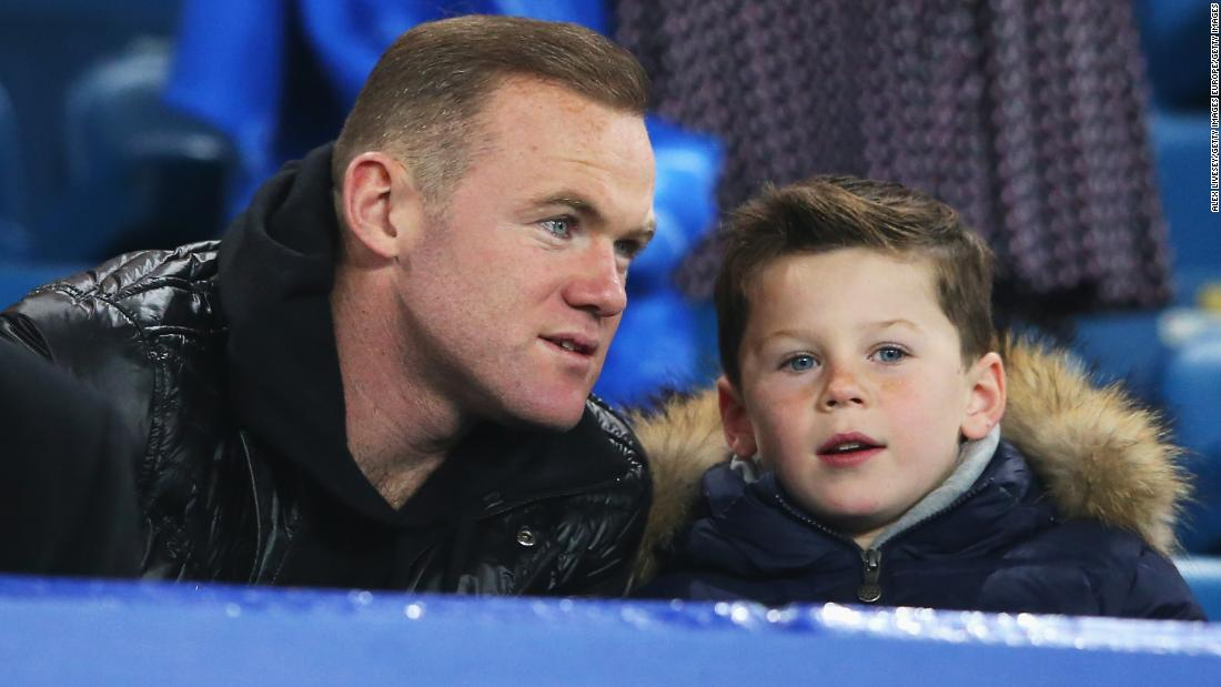Wayne Rooney's son signs for Manchester United's academy