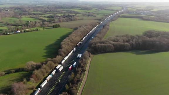 Video Thumbnail from Anna Stewart package about queues at Dover