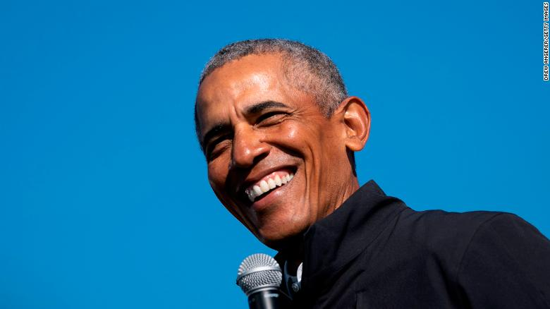 Barack Obama lists his favorite books of 2020