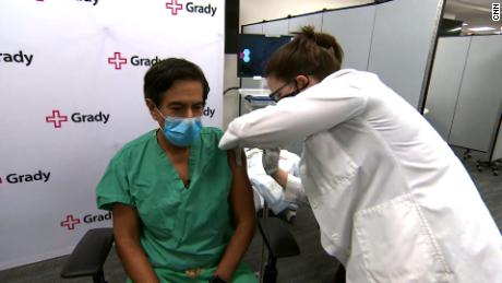 Watch CNN's Dr. Sanjay Gupta get the Covid-19 vaccine