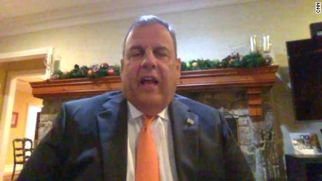 Hear Chris Christie explain why he didn't wear a mask at WH