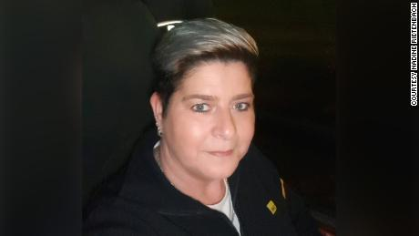 Nadine Rietenbach has worked through the pandemic as a bus driver in Berlin.
