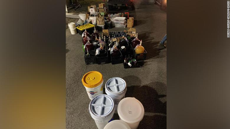 Cops discover an illegal winery operating out of an Alabama town's sewage plant