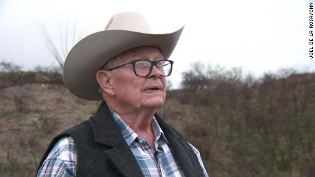 Rancher Jim Chilton says he captured video of drug smugglers on his property.