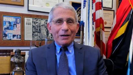 Child asks Dr. Fauci: When can we hug our families again?