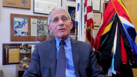 Dr. Fauci: I vaccinated Santa Claus myself