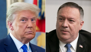 Trump downplays massive cyber hack on government after Pompeo links attack to Russia