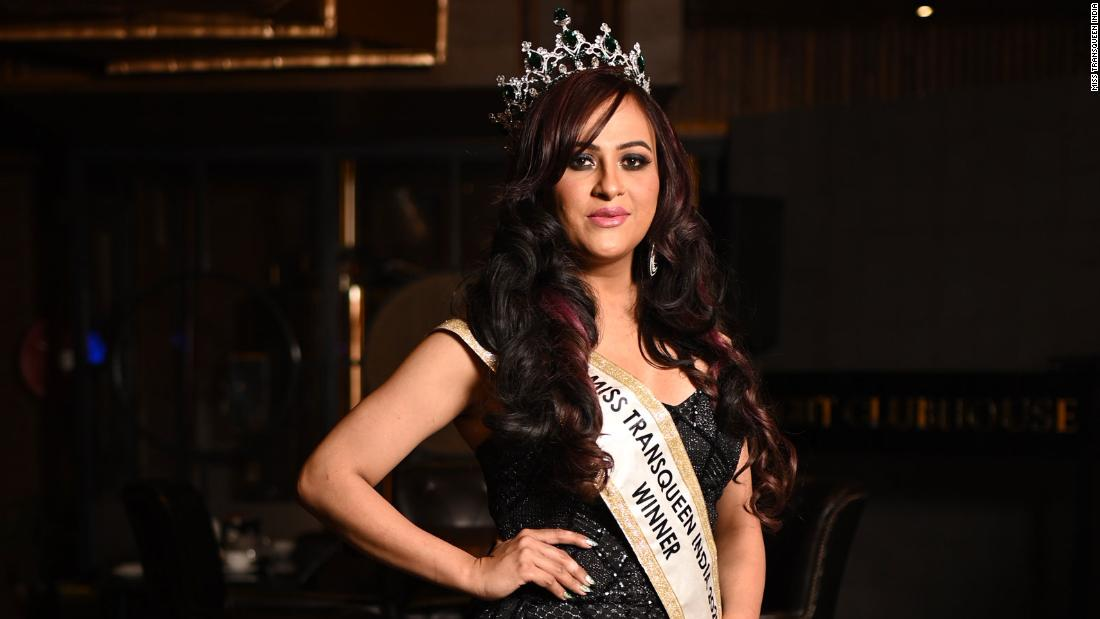India crowns new Miss Transqueen