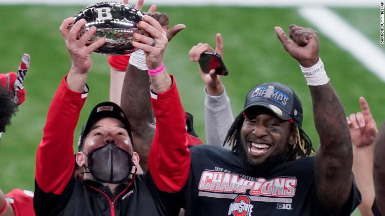 Ohio State wins Big Ten title as Texas A&M makes final case for College Football Playoff spot
