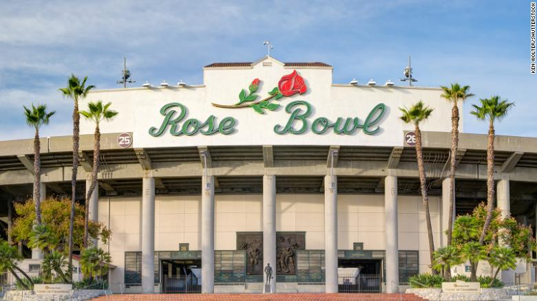 The College Football Playoff semifinal is moving from California's Rose Bowl to Texas due to coronavirus restrictions