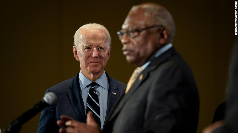 From pivotal endorsement to Cabinet advice, Jim Clyburn is here for Joe Biden