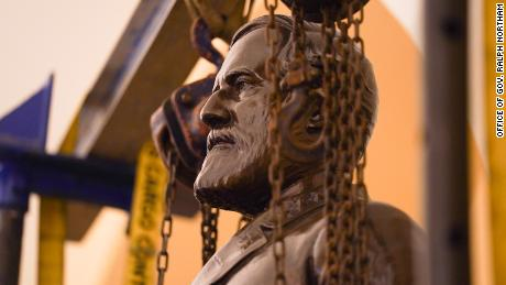 Robert E. Lee statue removed from US Capitol