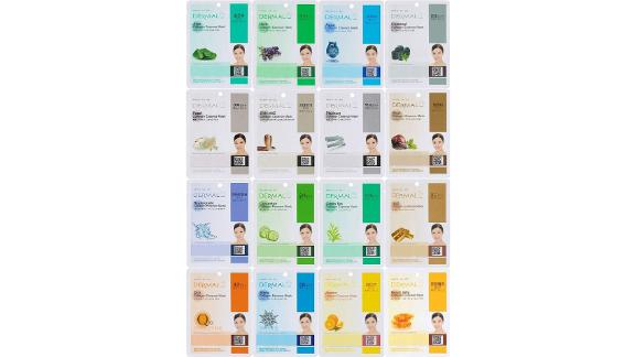 Dermal Korea Collagen Essence Sheet Mask Combo Pack