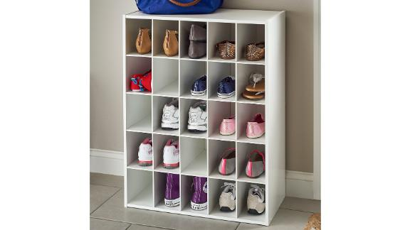 ClosetMaid 25-Pair Stackable Shoe Rack