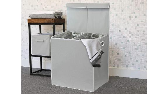 Simple Houseware Double Laundry Hamper