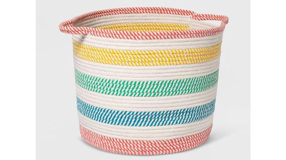 Pillowfort Coiled Rope Basket