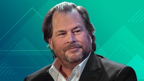 مارک بنیوف از Salesforce از سال 2020 مدیر عامل CNN Business است.
