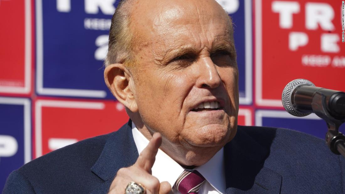 Rudy Giuliani expected to wage court fight over files seized in federal raid – CNN