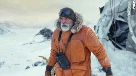 "George Clooney directs and stars in ""The Midnight Sky."""