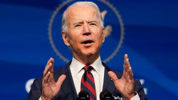President-elect Joe Biden announces members of his climate and energy appointments at the Queen theater on December 19, 2020 in Wilmington, DE.  Biden announced his climate and energy team that will advance an ambitious agenda to address the issues of climate change.