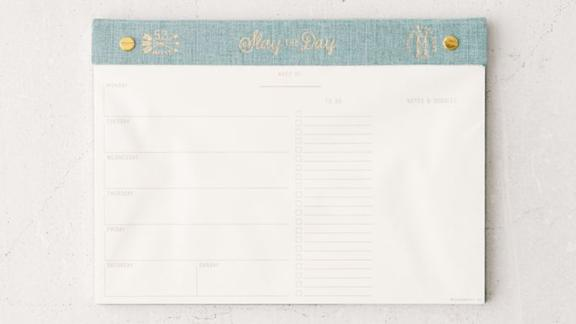 Constellations Weekly Planner Notepad