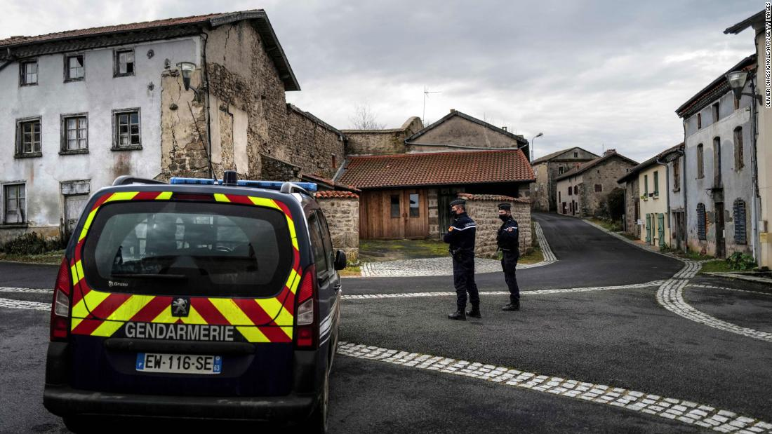 Three French police officers shot dead responding to domestic violence incident