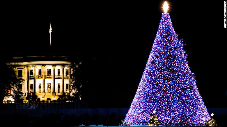 What Christmas is like for a US President
