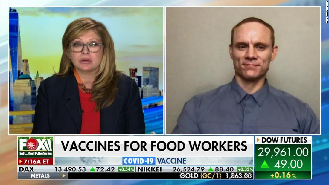 Fox News' Maria Bartiromo thought she was interviewing the CEO of Smithfield Foods. It was an impostor