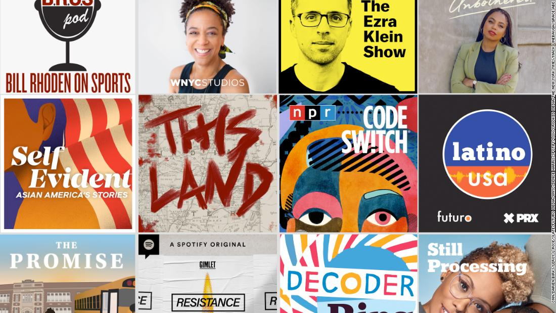 www.cnn.com: These podcasts helped get us through some of 2020's most difficult conversations