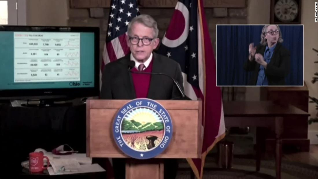 Ohio's Republican governor announces police reform bill