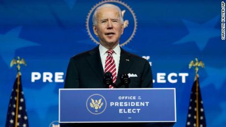 Biden says his transition team has 'encountered roadblocks' from Trump appointees